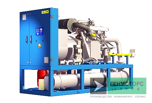 Газопоршневая электростанция (ГПУ) Tedom Cento T80