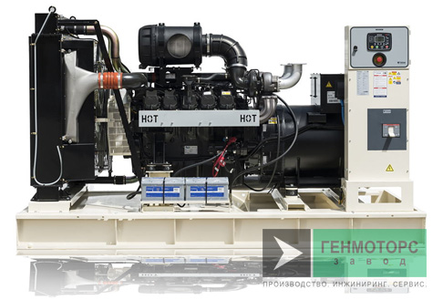 Дизельный генератор (электростанция) Teksan TJ631DW5C