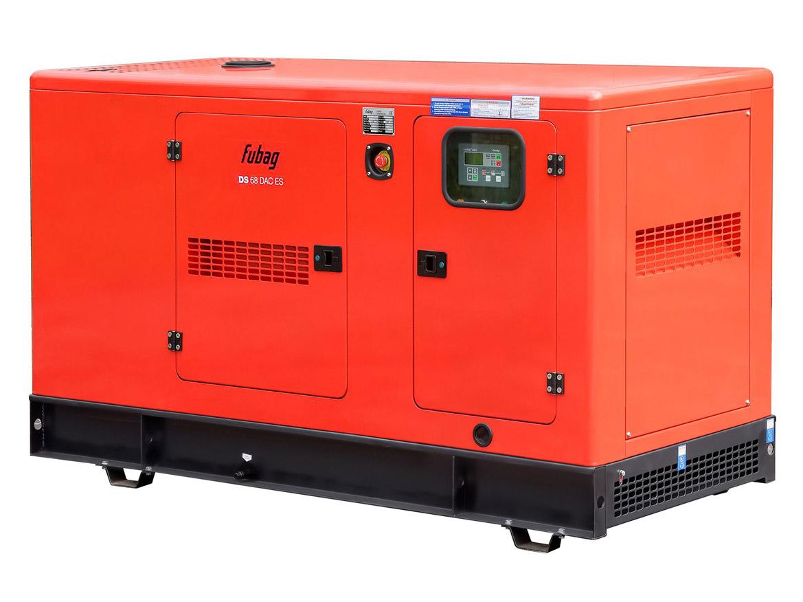 Дизельный генератор (электростанция) FUBAG DS 68 DAC ES