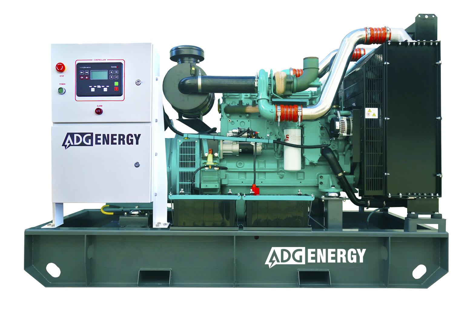 Дизельный генератор (электростанция) ADG-ENERGY AD-385C