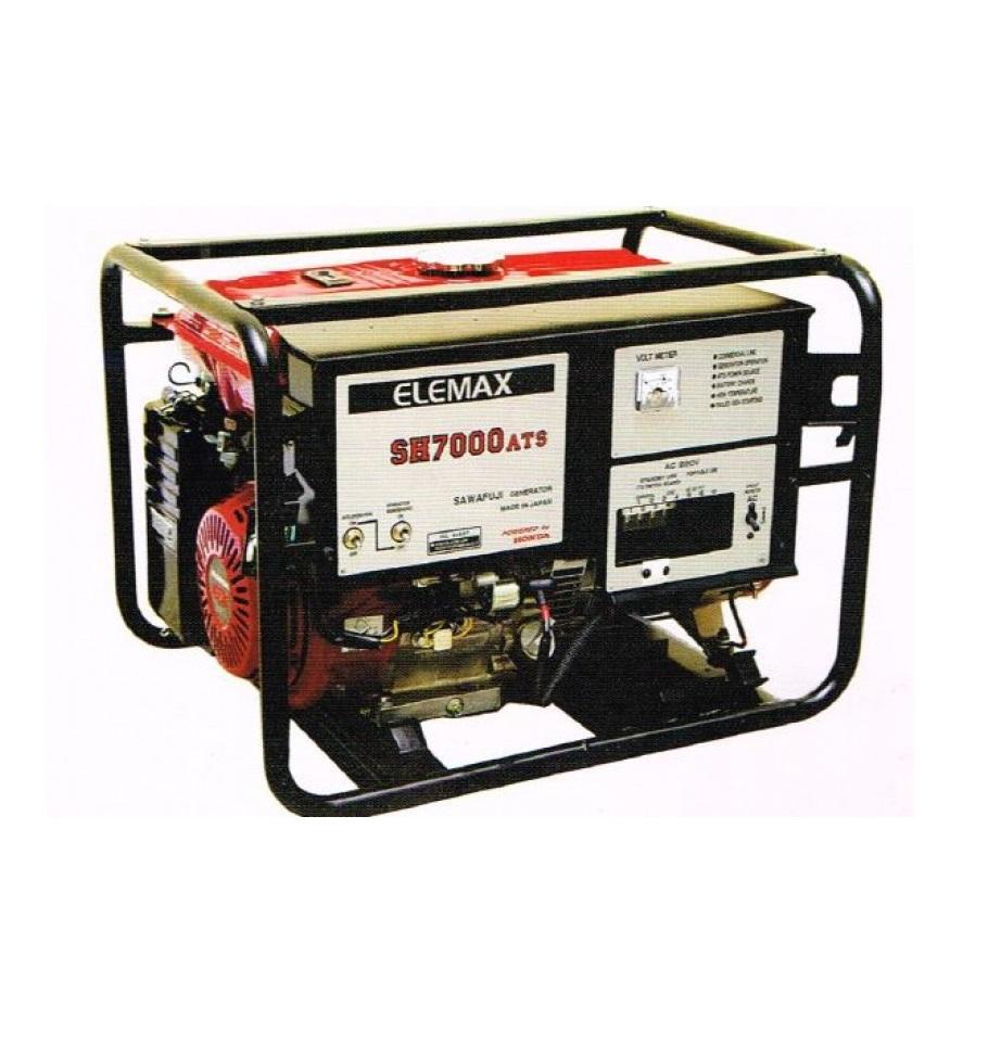 Бензиновый генератор (Бензогенератор) ELEMAX SH7000ATS-RAVS