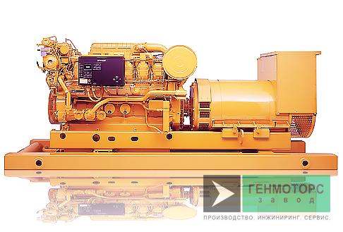 Дизельный генератор (электростанция) Caterpillar 3512B 1280 кВт