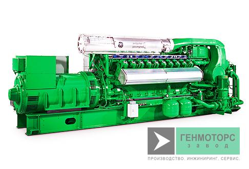 Газопоршневая электростанция (ГПУ) GE Jenbacher J420