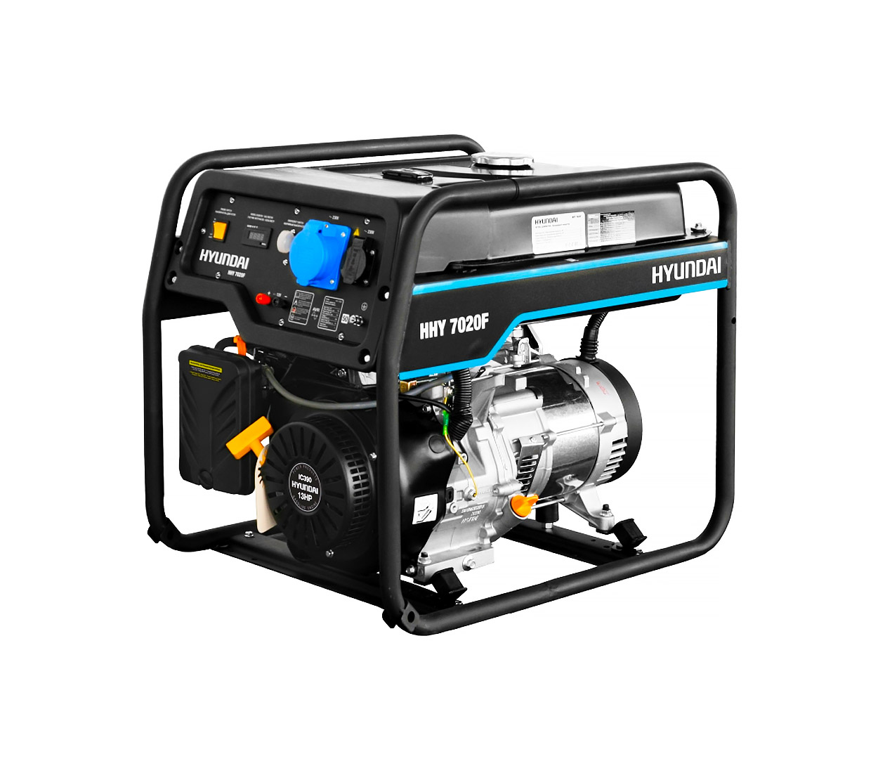 Бензиновый генератор (Бензогенератор) HYUNDAI HHY 7020F