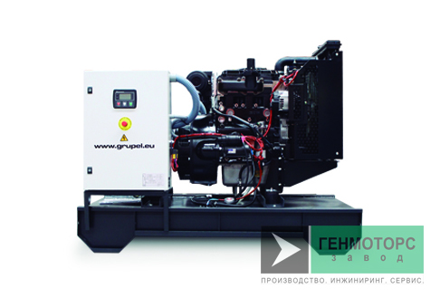 Дизельный генератор (электростанция) Grupel G22MSST