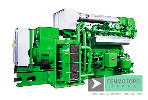 Газопоршневая электростанция (ГПУ) GE Jenbacher J312