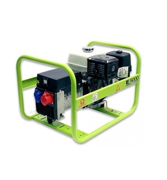 Бензиновый генератор (Бензогенератор) Pramac E5000, 400/230V, 50Hz