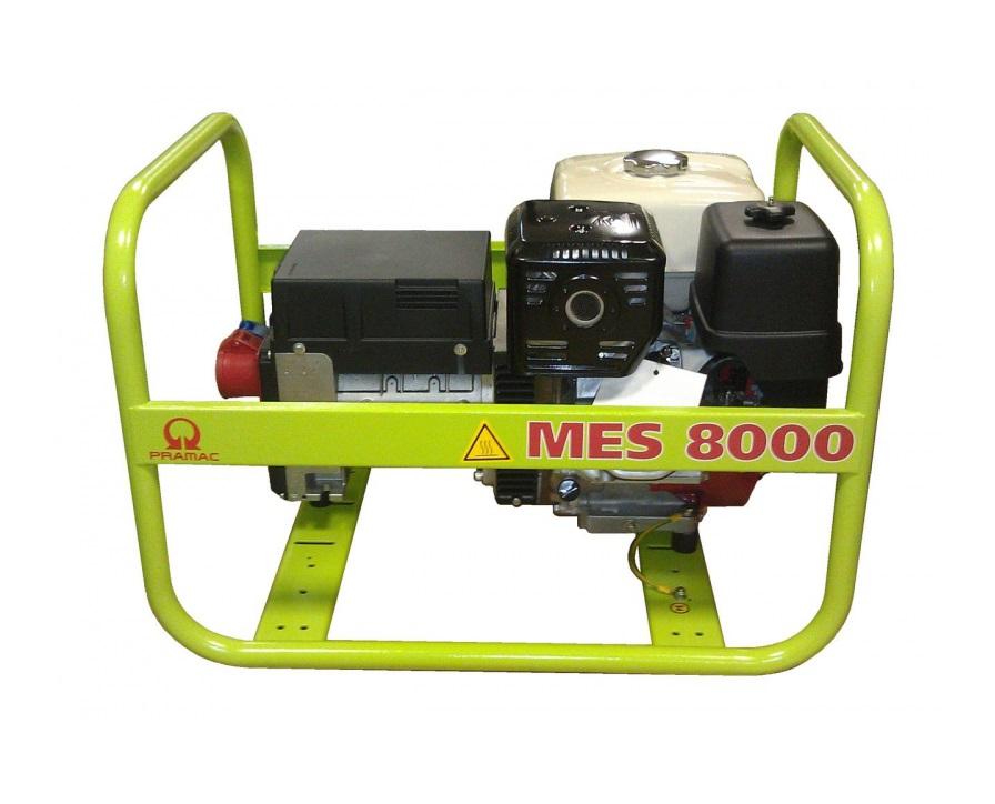 Бензиновый генератор (Бензогенератор) Pramac MES8000, 230V, 50Hz