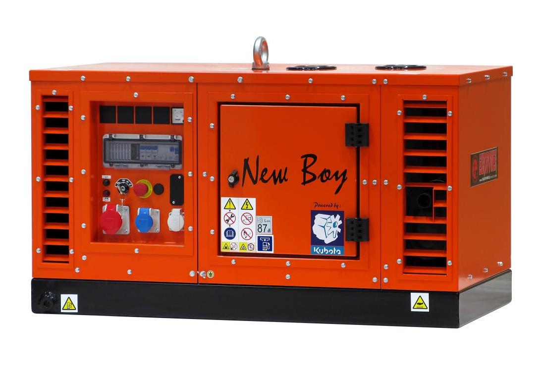 Дизельный генератор (электростанция) Europower EPS 83 TDE