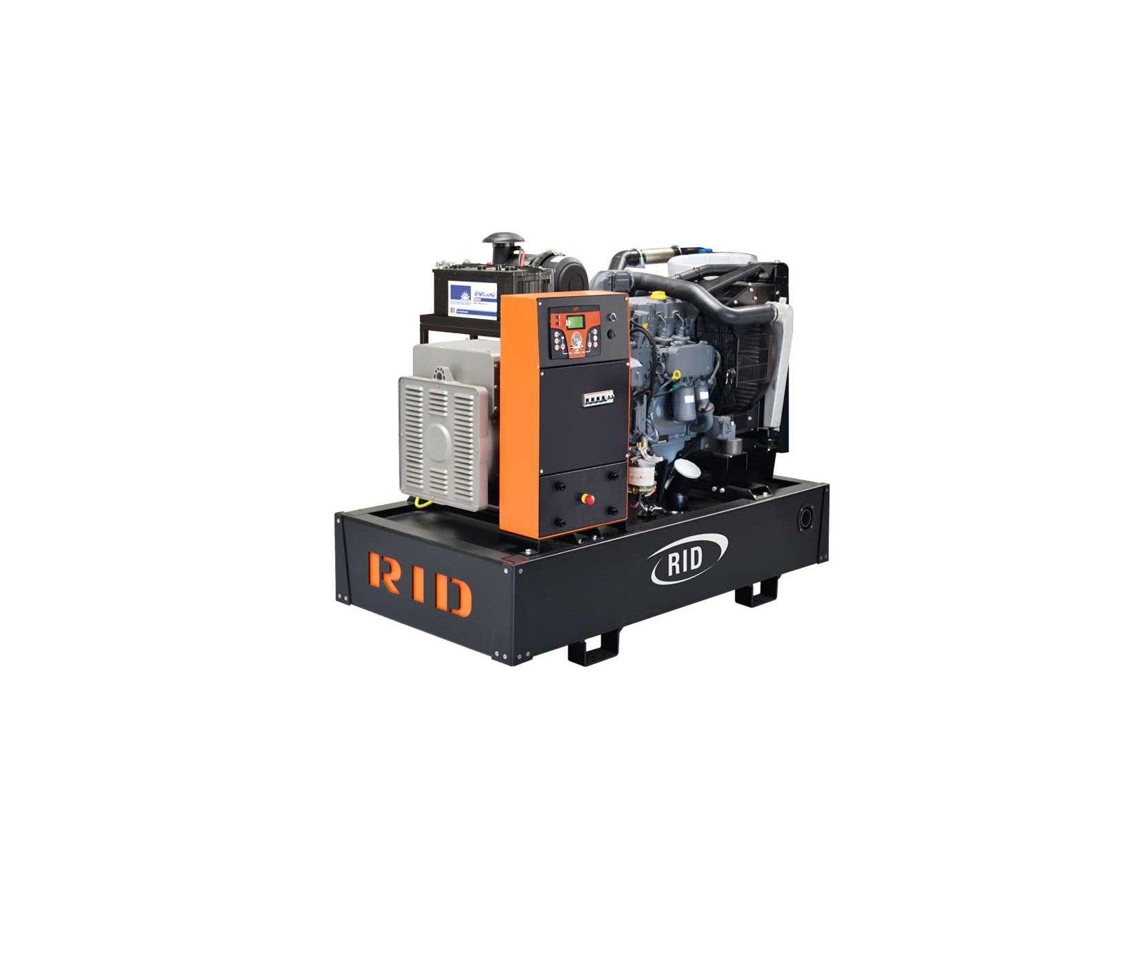 Дизельный генератор (электростанция) RID 80 S-SERIES