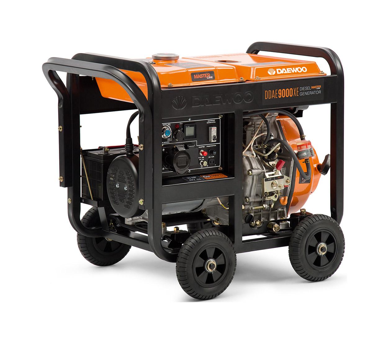 Дизельный генератор (электростанция) DAEWOO DDAE 9000XE