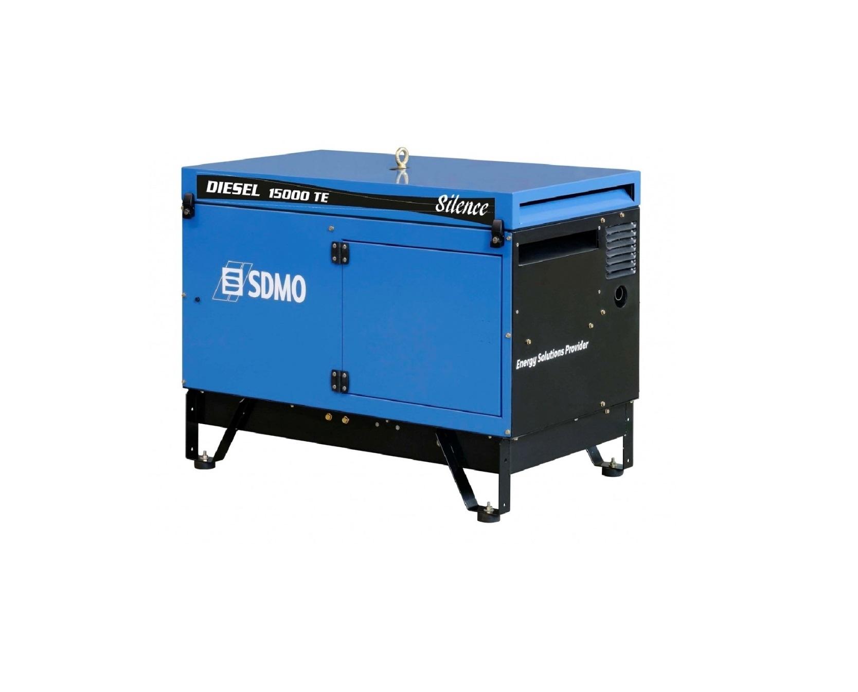 Дизельный генератор (электростанция) SDMO DIESEL 15000 TE SILENCE