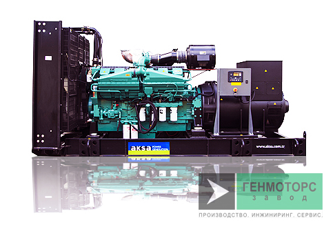 Дизельный генератор (электростанция) AKSA AC1100K