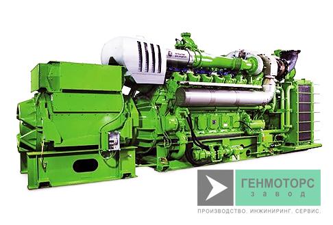 Газопоршневая электростанция (ГПУ) GE Jenbacher J612 1819 кВт