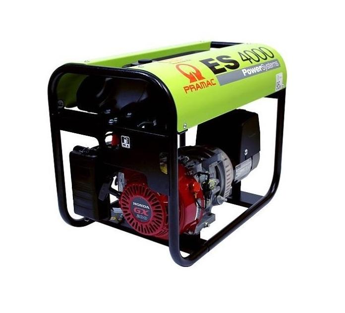 Бензиновый генератор (Бензогенератор) Pramac ES4000, 230V, 50Hz