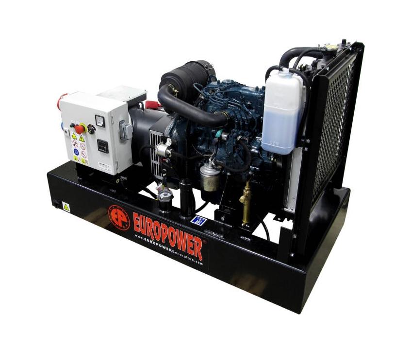 Дизельный генератор (электростанция) Europower EP 9 TDE