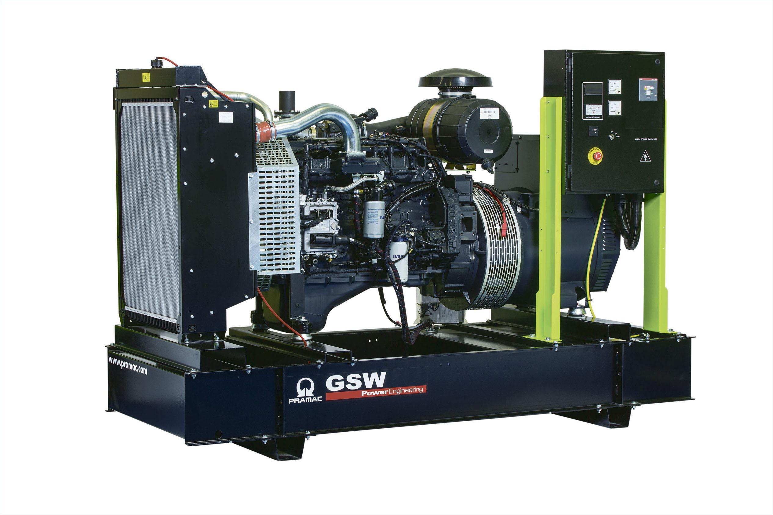 Дизельный генератор (электростанция) Pramac GSW165P