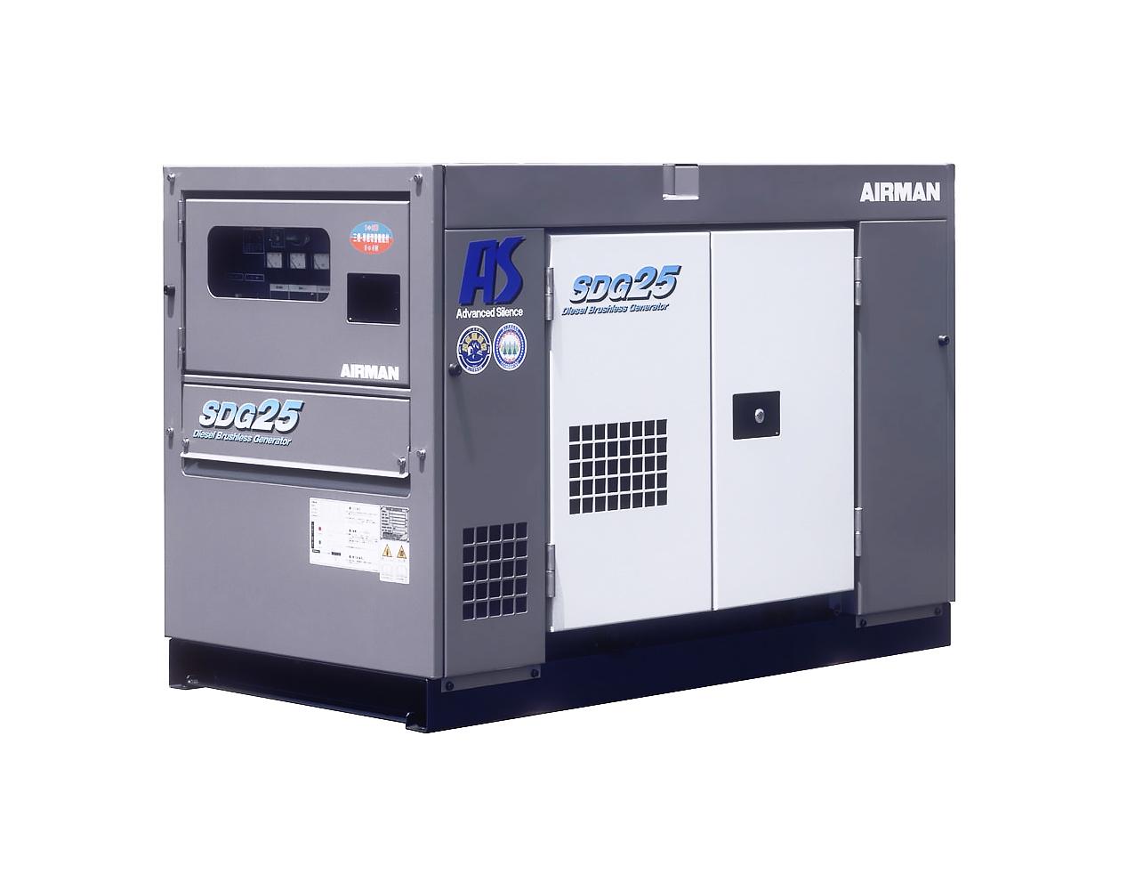 Дизельный генератор (электростанция) AIRMAN SDG25AS