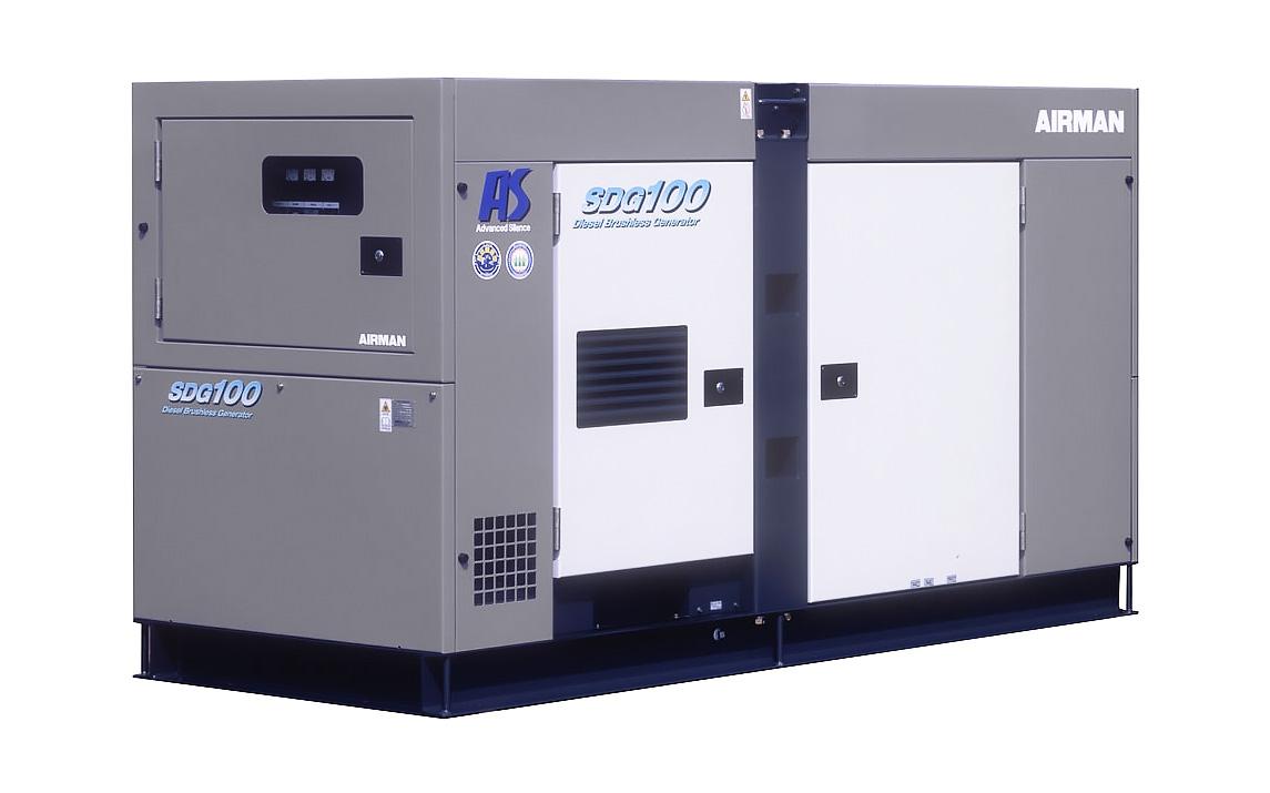 Дизельный генератор (электростанция) AIRMAN SDG100AS