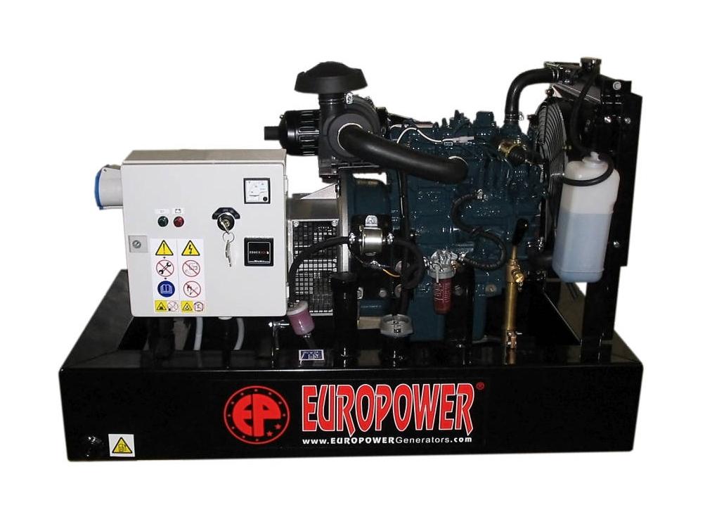 Дизельный генератор (электростанция) Europower EP 8 DE
