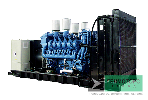 Дизельный генератор (электростанция) Pramac GSW440M