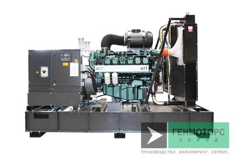 Дизельный генератор (электростанция) Gesan QI 830 ME