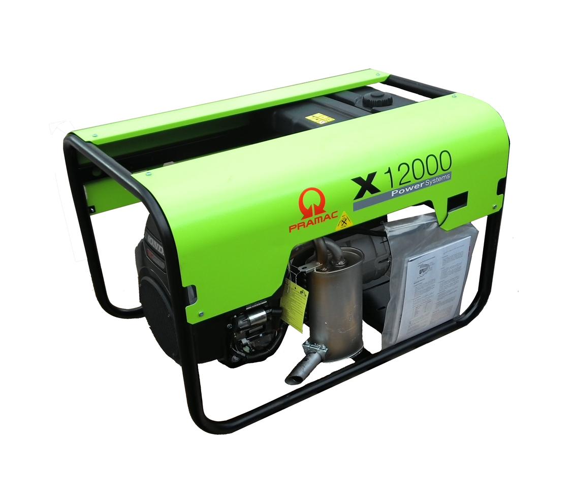 Бензиновый генератор (Бензогенератор) Pramac X12000, 230V, 50Hz