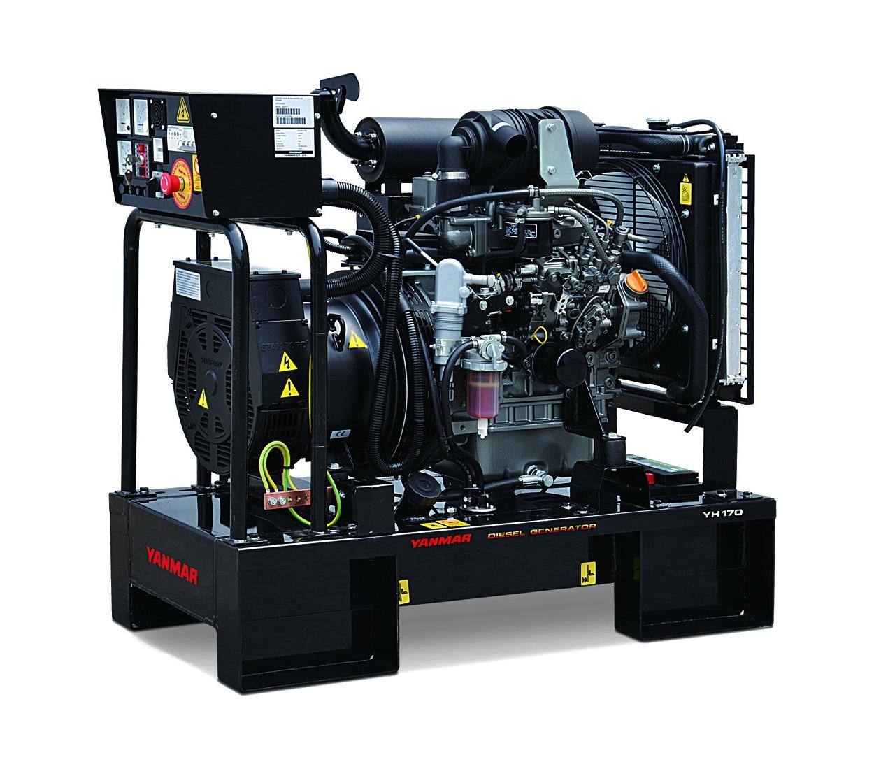 Дизельный генератор (электростанция) Yanmar YH170DTLA-5R