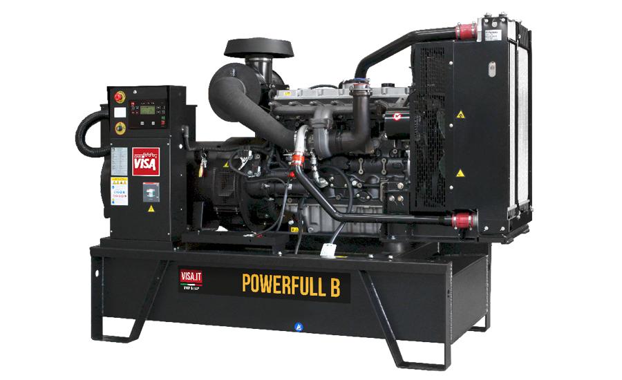 Дизельный генератор (электростанция) Onis Visa F170