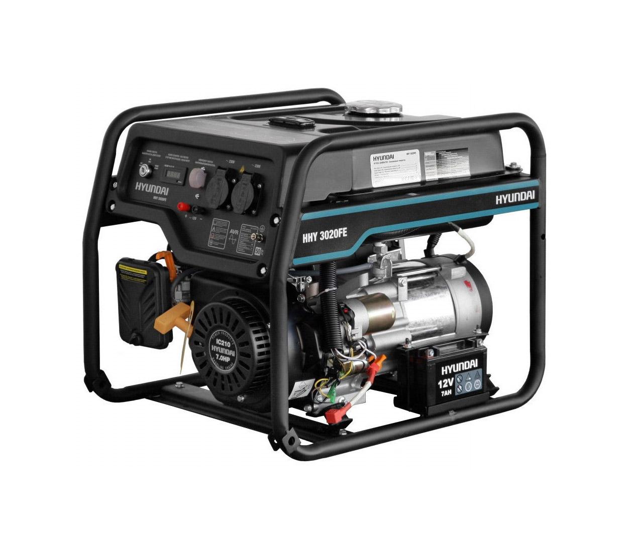 Бензиновый генератор (Бензогенератор) HYUNDAI HHY 3020FE