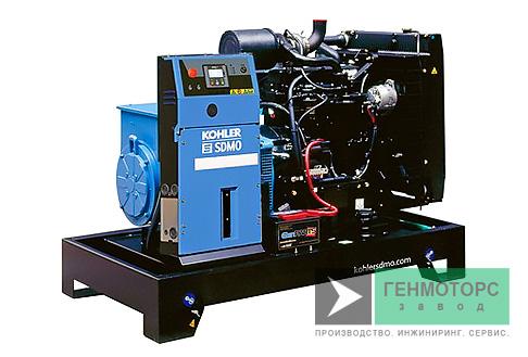 Дизельный генератор (электростанция) SDMO J77K