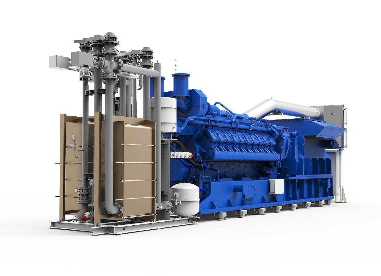 Газопоршневая электростанция (ГПУ) PowerLink TCG2000-NG