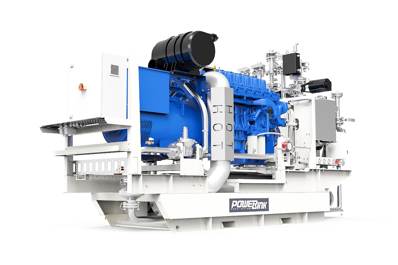 Газопоршневая электростанция (ГПУ) PowerLink CG250S-NG