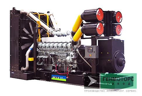 Дизельный генератор (электростанция) AKSA APD2500M