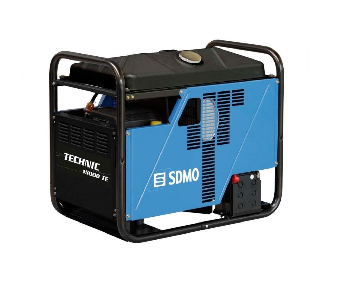 Бензиновый генератор (Бензогенератор) SDMO TECHNIC 15000 TE