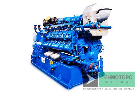 Газопоршневая электростанция (ГПУ) MWM TCG 2020 V12