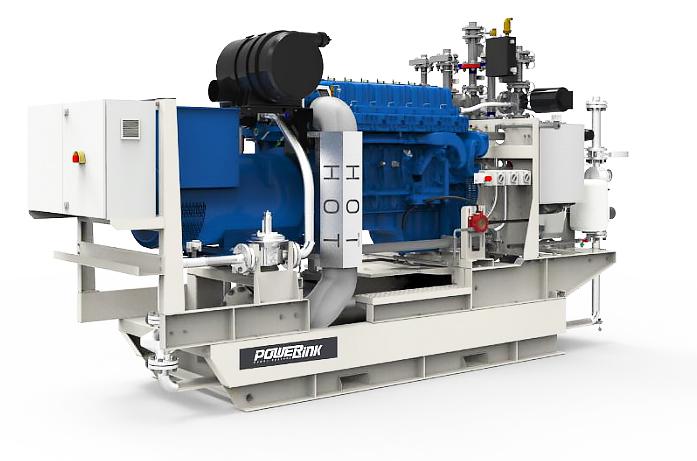 Газопоршневая электростанция (ГПУ) PowerLink CG100S-NG