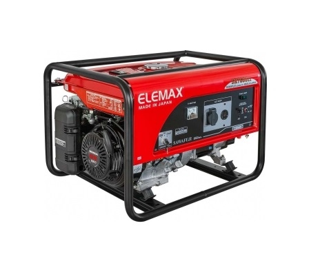 Бензиновый генератор (Бензогенератор) ELEMAX SH7600EX-R