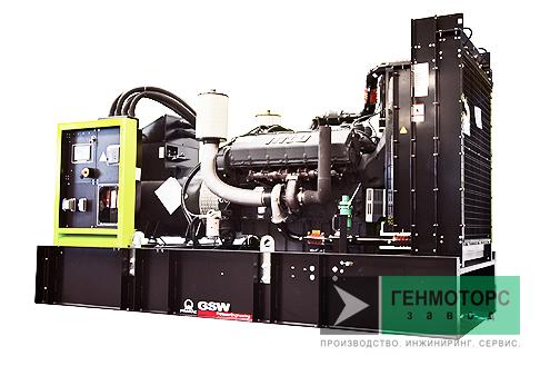 Дизельный генератор (электростанция) Pramac GSW665M