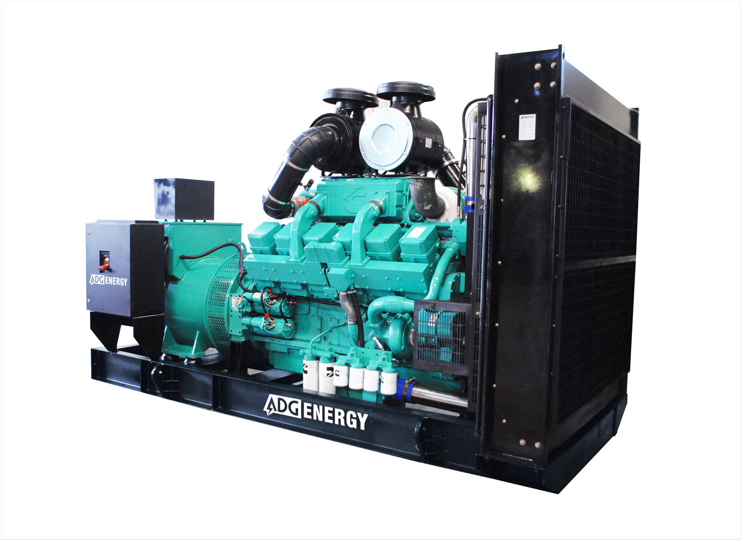Дизельный генератор (электростанция) ADG-ENERGY AD-880C
