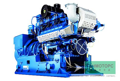 Газопоршневая электростанция (ГПУ) MWM TCG 2016 V12