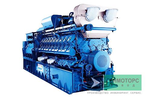 Газопоршневая электростанция (ГПУ) MWM TCG 2020 V20
