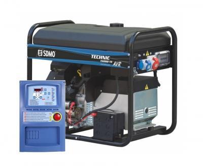 Бензиновый генератор (Бензогенератор) SDMO TECHNIC 15000 TE AVR