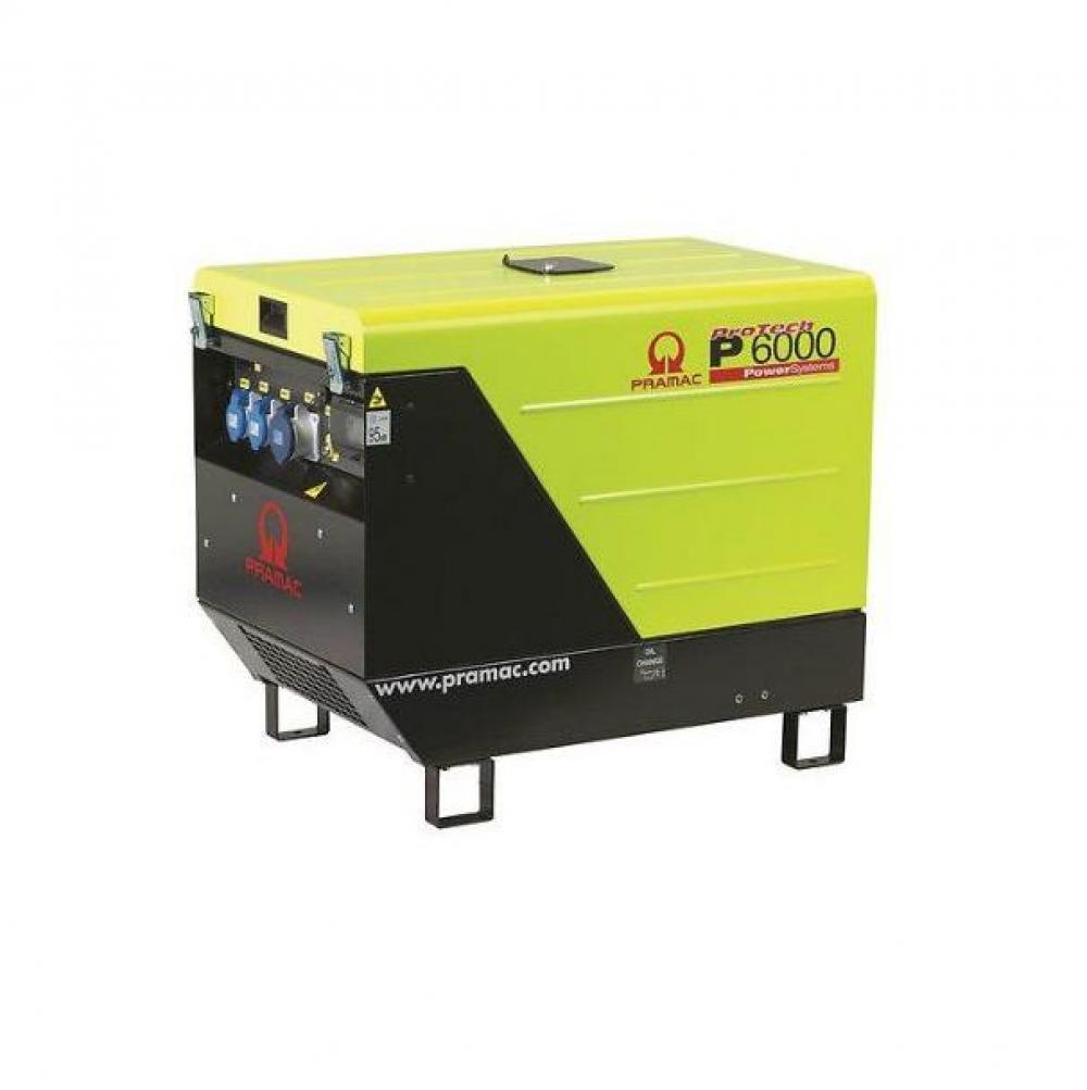 Дизельный генератор (электростанция) Pramac P6000, 230V, 50Hz #CONN #DPP