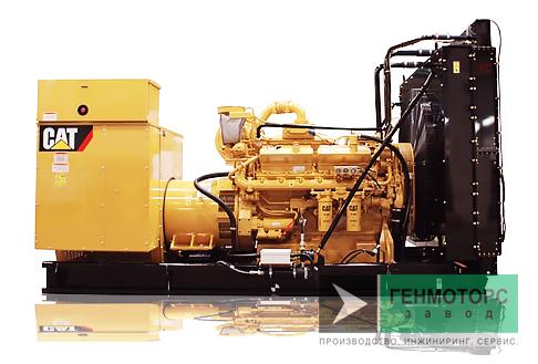Дизельный генератор (электростанция) Caterpillar 3412C 544 кВт