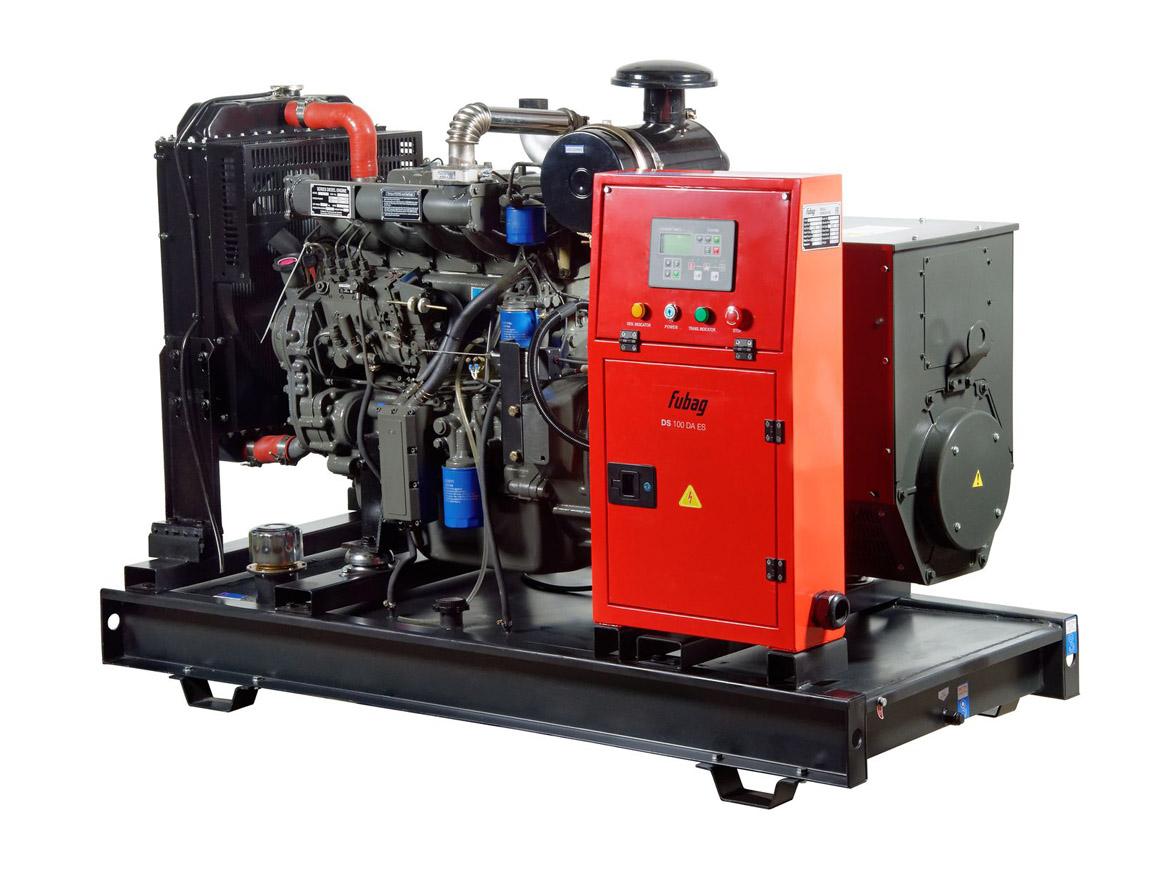 Дизельный генератор (электростанция) FUBAG DS 100 DA ES