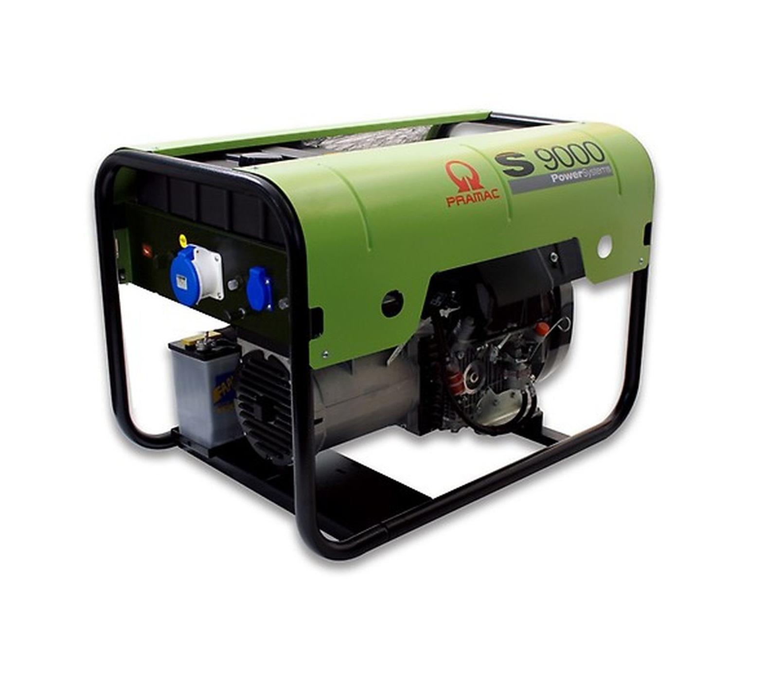 Дизельный генератор (электростанция) Pramac S9000, 230V, 50Hz