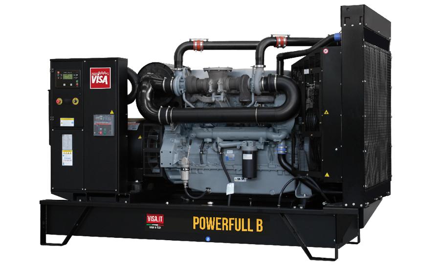 Дизельный генератор (электростанция) Onis Visa P400