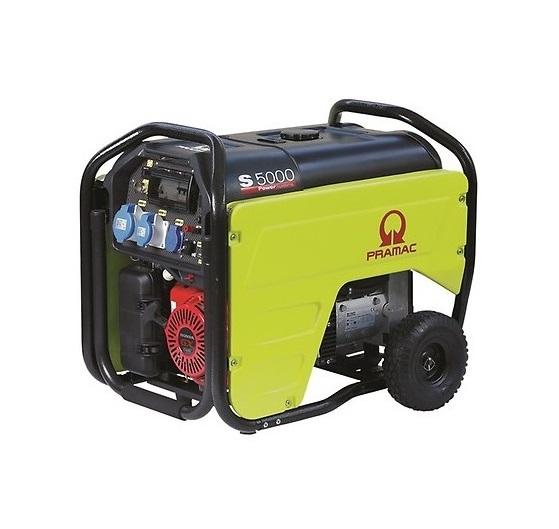 Бензиновый генератор (Бензогенератор) Pramac S5000, 230V, 50Hz #CONN #DPP