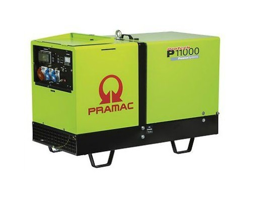 Дизельный генератор (электростанция) Pramac P11000, 400/230V, 50Hz #DPP